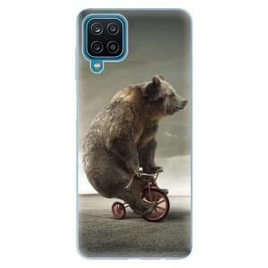 Odolné silikonové pouzdro iSaprio - Bear 01 na mobil Samsung Galaxy A12