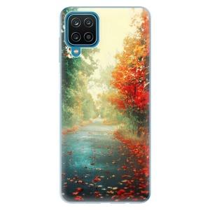 Odolné silikonové pouzdro iSaprio - Autumn 03 na mobil Samsung Galaxy A12