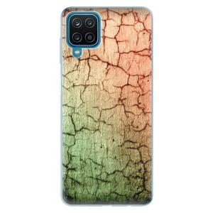 Odolné silikonové pouzdro iSaprio - Cracked Wall 01 na mobil Samsung Galaxy M12