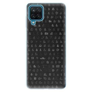 Odolné silikonové pouzdro iSaprio - Ampersand 01 na mobil Samsung Galaxy A12