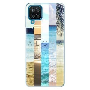 Odolné silikonové pouzdro iSaprio - Aloha 02 na mobil Samsung Galaxy A12