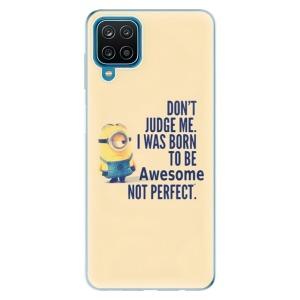 Odolné silikonové pouzdro iSaprio - Be Awesome na mobil Samsung Galaxy A12