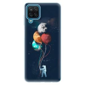 Odolné silikonové pouzdro iSaprio - Balloons 02 na mobil Samsung Galaxy A12