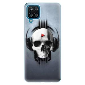 Odolné silikonové pouzdro iSaprio - Skeleton M na mobil Samsung Galaxy A12 - poslední kousek za tuto cenu