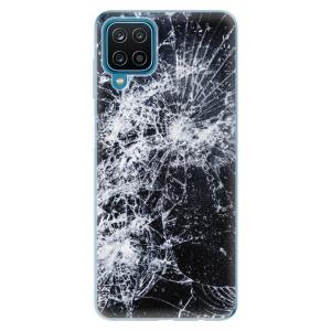 Odolné silikonové pouzdro iSaprio - Cracked na mobil Samsung Galaxy M12
