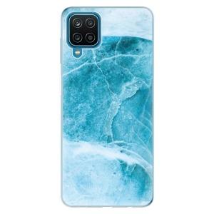 Odolné silikonové pouzdro iSaprio - Blue Marble na mobil Samsung Galaxy A12