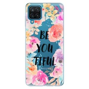 Odolné silikonové pouzdro iSaprio - BeYouTiful na mobil Samsung Galaxy A12