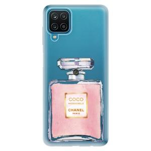 Odolné silikonové pouzdro iSaprio - Chanel Rose na mobil Samsung Galaxy A12