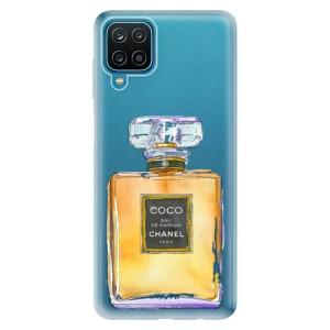 Odolné silikonové pouzdro iSaprio - Chanel Gold na mobil Samsung Galaxy A12