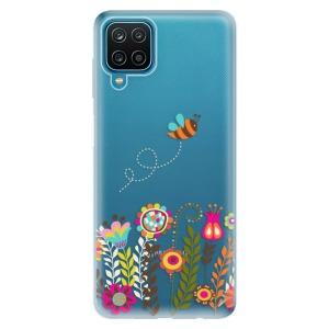 Odolné silikonové pouzdro iSaprio - Bee 01 na mobil Samsung Galaxy A12