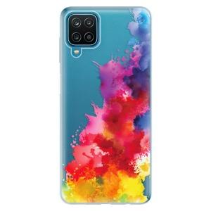 Odolné silikonové pouzdro iSaprio - Color Splash 01 na mobil Samsung Galaxy M12