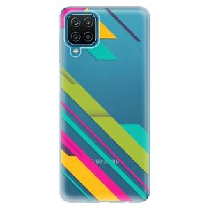 Odolné silikonové pouzdro iSaprio - Color Stripes 03 na mobil Samsung Galaxy M12