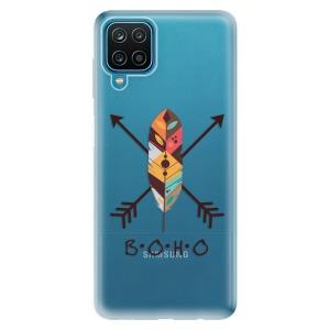 Odolné silikonové pouzdro iSaprio - BOHO na mobil Samsung Galaxy A12