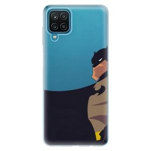 Odolné silikonové pouzdro iSaprio - BaT Comics na mobil Samsung Galaxy A12
