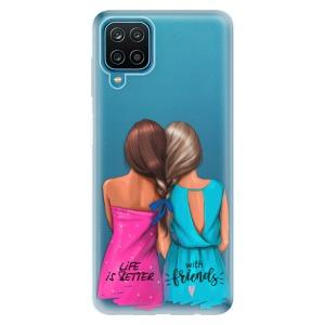 Odolné silikonové pouzdro iSaprio - Best Friends na mobil Samsung Galaxy A12