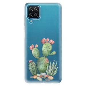 Odolné silikonové pouzdro iSaprio - Cacti 01 na mobil Samsung Galaxy A12