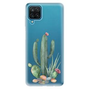 Odolné silikonové pouzdro iSaprio - Cacti 02 na mobil Samsung Galaxy A12