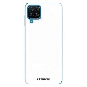 Odolné silikonové pouzdro iSaprio - 4Pure - bílé na mobil Samsung Galaxy A12