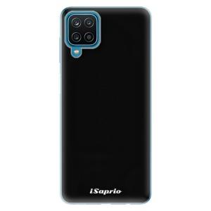 Odolné silikonové pouzdro iSaprio - 4Pure - černé na mobil Samsung Galaxy A12