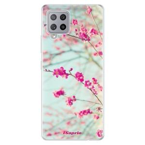 Odolné silikonové pouzdro iSaprio - Blossom 01 na mobil Samsung Galaxy A42 5G