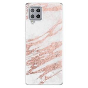 Odolné silikonové pouzdro iSaprio - RoseGold 10 na mobil Samsung Galaxy A42 5G