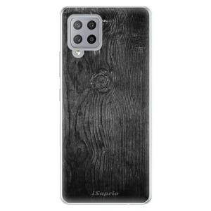 Odolné silikonové pouzdro iSaprio - Black Wood 13 na mobil Samsung Galaxy A42 5G