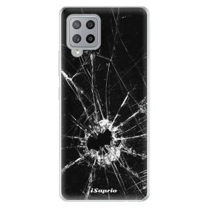 Odolné silikonové pouzdro iSaprio - Broken Glass 10 na mobil Samsung Galaxy A42 5G