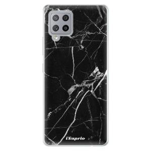 Odolné silikonové pouzdro iSaprio - Black Marble 18 na mobil Samsung Galaxy A42 5G