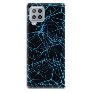 Odolné silikonové pouzdro iSaprio - Abstract Outlines 12 na mobil Samsung Galaxy A42 5G