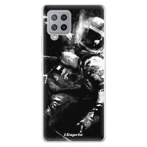 Odolné silikonové pouzdro iSaprio - Astronaut 02 na mobil Samsung Galaxy A42 5G