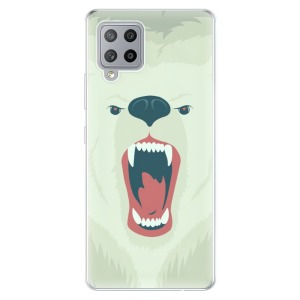 Odolné silikonové pouzdro iSaprio - Angry Bear na mobil Samsung Galaxy A42 5G