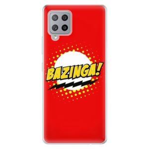 Odolné silikonové pouzdro iSaprio - Bazinga 01 na mobil Samsung Galaxy A42 5G