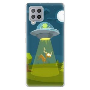 Odolné silikonové pouzdro iSaprio - Alien 01 na mobil Samsung Galaxy A42 5G