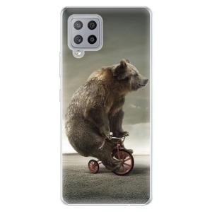 Odolné silikonové pouzdro iSaprio - Bear 01 na mobil Samsung Galaxy A42 5G