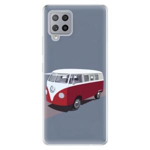 Odolné silikonové pouzdro iSaprio - VW Bus na mobil Samsung Galaxy A42 5G