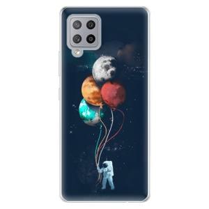 Odolné silikonové pouzdro iSaprio - Balloons 02 na mobil Samsung Galaxy A42 5G