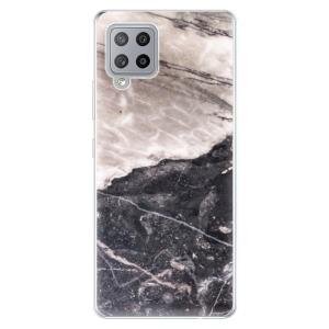 Odolné silikonové pouzdro iSaprio - BW Marble na mobil Samsung Galaxy A42 5G