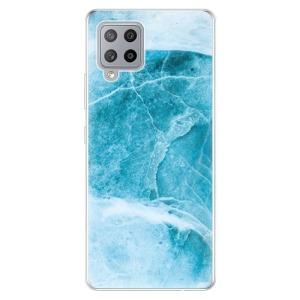 Odolné silikonové pouzdro iSaprio - Blue Marble na mobil Samsung Galaxy A42 5G