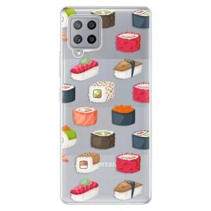 Odolné silikonové pouzdro iSaprio - Sushi Pattern na mobil Samsung Galaxy A42 5G - poslední kousek za tuto cenu
