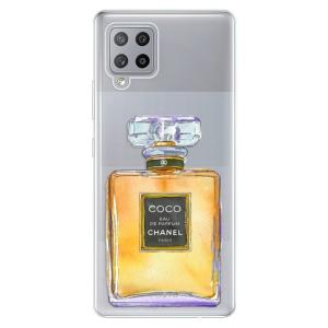 Odolné silikonové pouzdro iSaprio - Chanel Gold na mobil Samsung Galaxy A42 5G