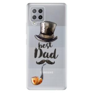 Odolné silikonové pouzdro iSaprio - Best Dad na mobil Samsung Galaxy A42 5G