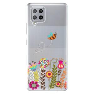 Odolné silikonové pouzdro iSaprio - Bee 01 na mobil Samsung Galaxy A42 5G