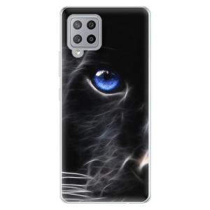 Odolné silikonové pouzdro iSaprio - Black Puma na mobil Samsung Galaxy A42 5G