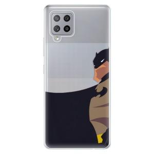 Odolné silikonové pouzdro iSaprio - BaT Comics na mobil Samsung Galaxy A42 5G