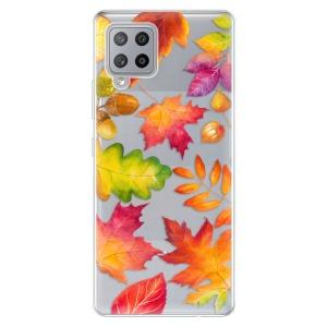 Odolné silikonové pouzdro iSaprio - Autumn Leaves 01 na mobil Samsung Galaxy A42 5G