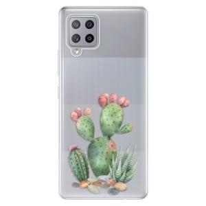 Odolné silikonové pouzdro iSaprio - Cacti 01 na mobil Samsung Galaxy A42 5G