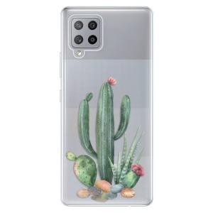 Odolné silikonové pouzdro iSaprio - Cacti 02 na mobil Samsung Galaxy A42 5G