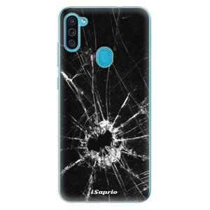 Odolné silikonové pouzdro iSaprio - Broken Glass 10 na mobil Samsung Galaxy M11