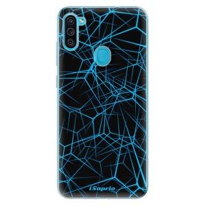 Odolné silikonové pouzdro iSaprio - Abstract Outlines 12 na mobil Samsung Galaxy M11