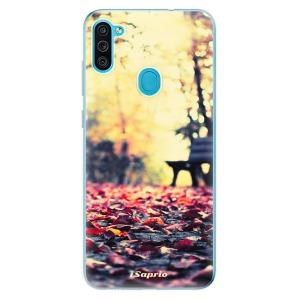 Odolné silikonové pouzdro iSaprio - Bench 01 na mobil Samsung Galaxy M11